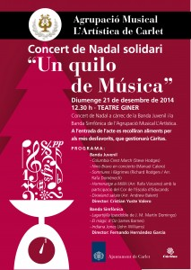 Concert nadal artstica OK-01